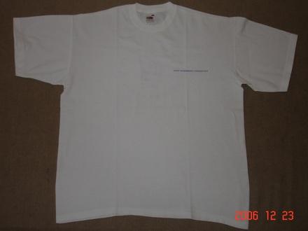 Kéktúrás póló - elöl